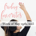 Friday Favorites Week of May 29th - Benefits of Running, Best style advice, Cooking with nut oils and more