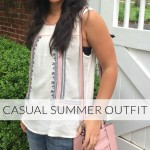 CASUAL SUMMER OUTIFT - SORORITYFASHION.COM