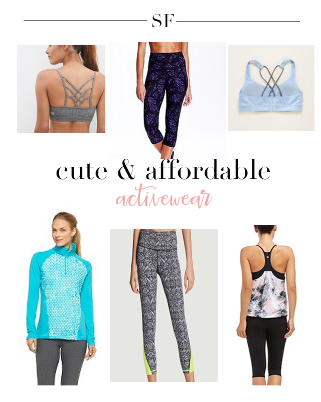 Cute and Affordable Activewear