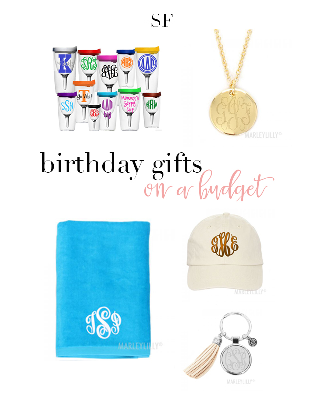 Birthday On A Budget: Personalized Gifts Under $30