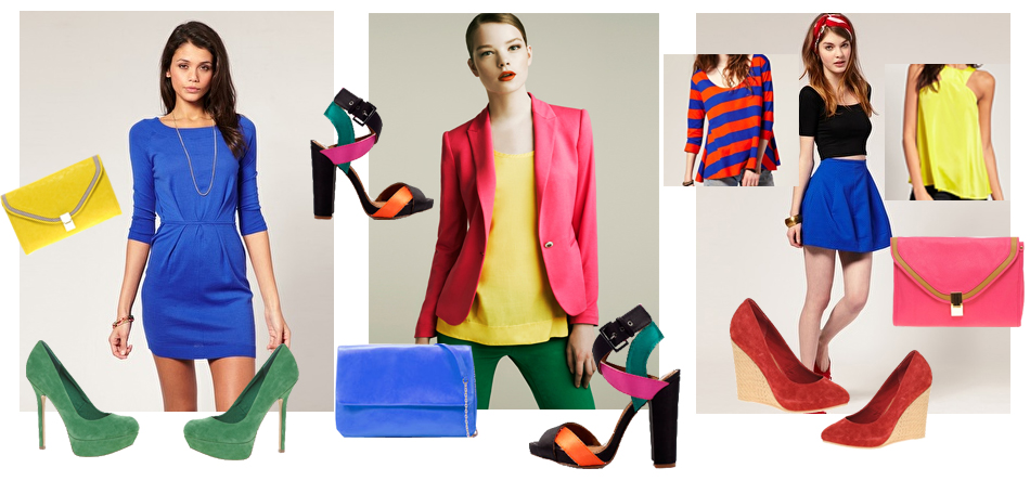 how to color block and mix bright colors sorority fashion
